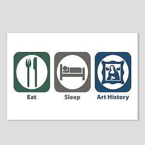 Eat Sleep Art History Postcards (Package of 8)