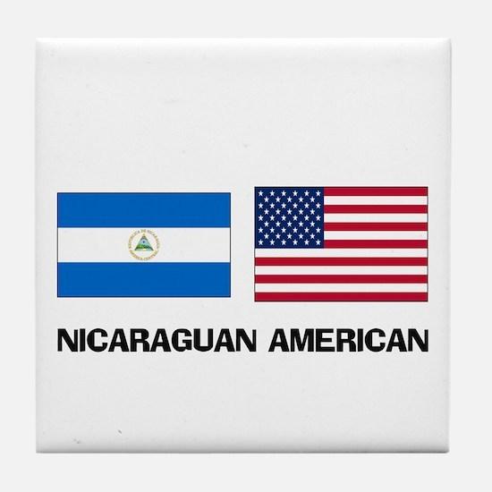 Nicaraguan American Tile Coaster