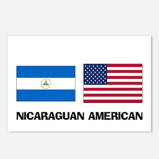 Nicaraguan American Postcards (Package of 8)