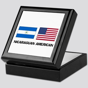 Nicaraguan American Keepsake Box
