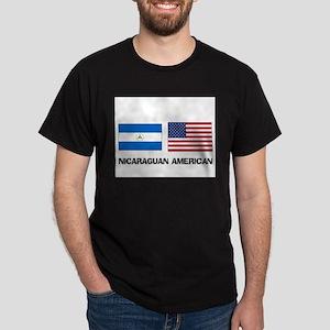 Nicaraguan American Dark T-Shirt