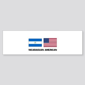 Nicaraguan American Bumper Sticker