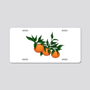 ORANGE DELIGHT Aluminum License Plate