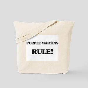 Purple Martins Rule Tote Bag