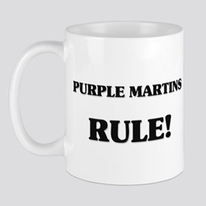 Purple Martins Rule Mug
