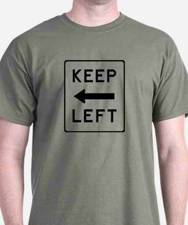 Keep Left T-Shirt