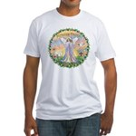 Miracles Happen Fitted T-Shirt