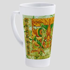 Harvest Moons Geodelic 1 17 oz Latte Mug