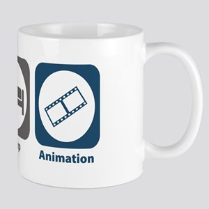 Eat Sleep Animation Mug