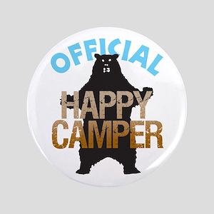 "Happy Camper 3.5"" Button"