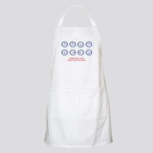 TIME AND TIDE - WAIT FOR NO MAN Light Apron