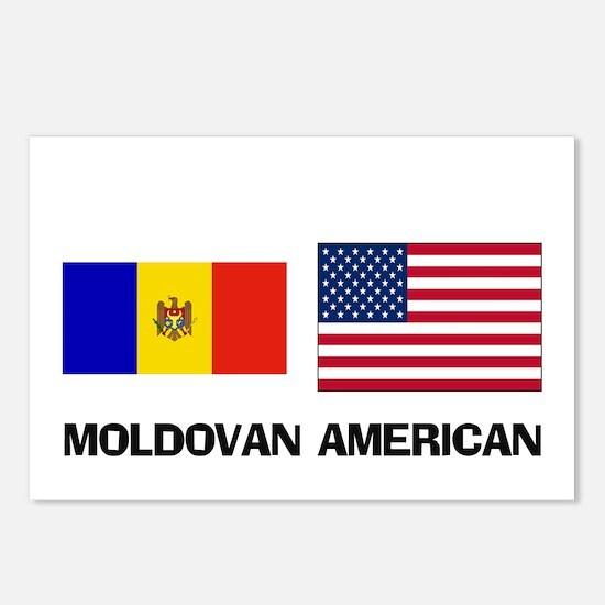 Moldovan American Postcards (Package of 8)
