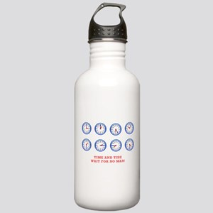 TIME AND TIDE - WAIT F Stainless Water Bottle 1.0L