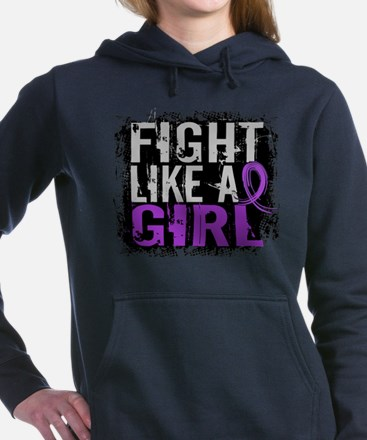 Licensed Fight Like a Girl 31.8 Epilep Sweatshirt