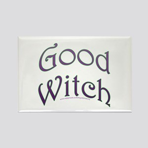 Good Witch Text Design Rectangle Magnet