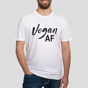 Vegan AF Fitted T-Shirt