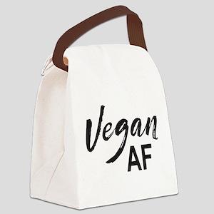Vegan AF Canvas Lunch Bag
