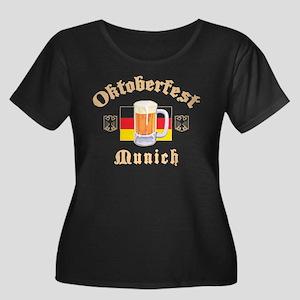 Oktoberfest Munich Women's Plus Size Scoop Neck Da