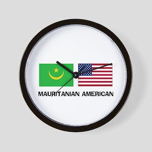 Mauritanian American Wall Clock