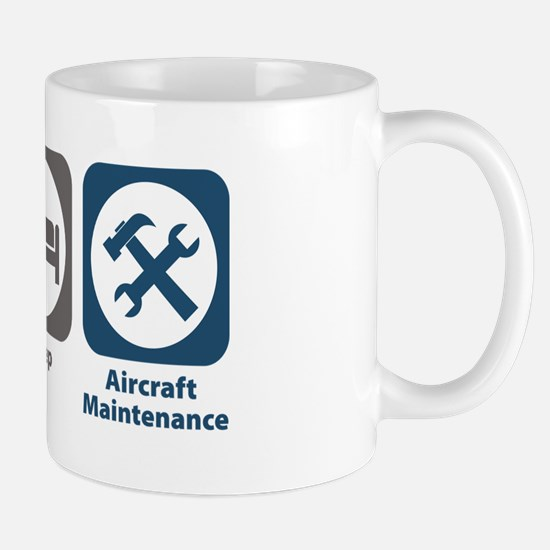Eat Sleep Aircraft Maintenance Mug