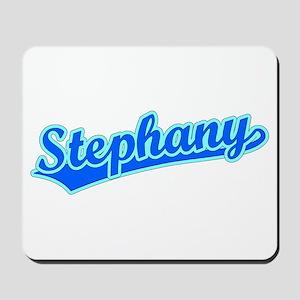 Retro Stephany (Blue) Mousepad