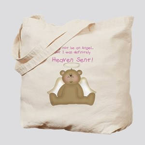 I may not be an angel Tote Bag