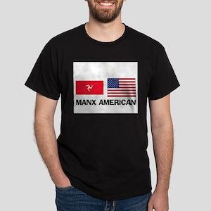 Manx American Dark T-Shirt
