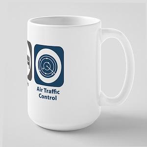 Eat Sleep Air Traffic Control Large Mug