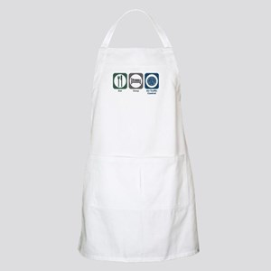 Eat Sleep Air Traffic Control BBQ Apron