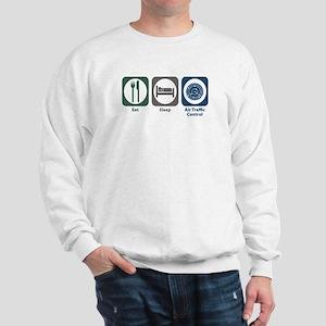 Eat Sleep Air Traffic Control Sweatshirt