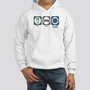 Eat Sleep Air Traffic Control Hooded Sweatshirt