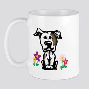 Spring Pit Bull Mug