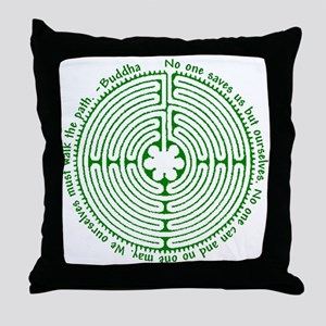 We ourselves must walk the path. Throw Pillow