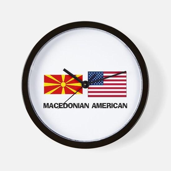 Unique Macedonia Wall Clock