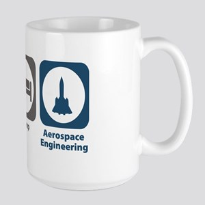 Eat Sleep Aerospace Engineering Large Mug