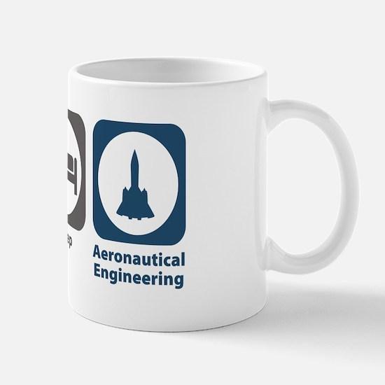 Eat Sleep Aeronautical Engineering Mug
