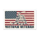 Vietnam Veteran Wall Decal
