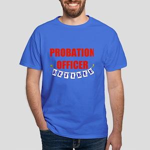 Retired Probation Officer Dark T-Shirt