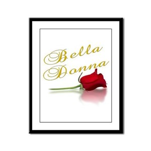 Bella Donna Framed Panel Print