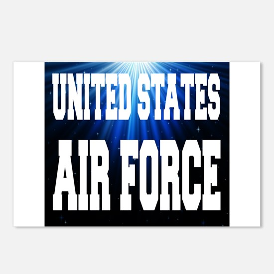 United States Air Force Postcards (Package of 8)