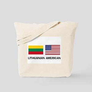 Lithuanian American Tote Bag