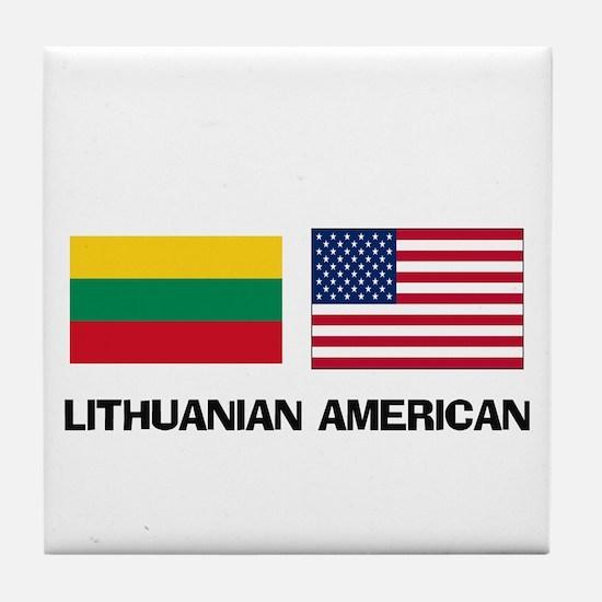 Lithuanian American Tile Coaster