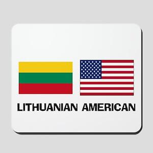 Lithuanian American Mousepad