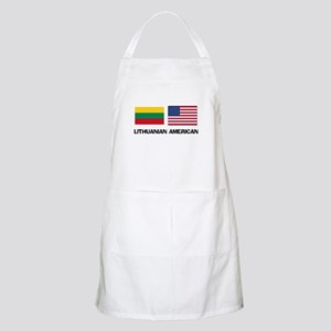 Lithuanian American BBQ Apron