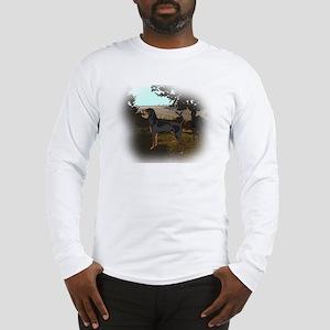 coonhound landscape Long Sleeve T-Shirt