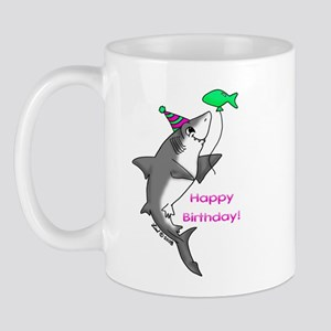 Birthday Shark Mug