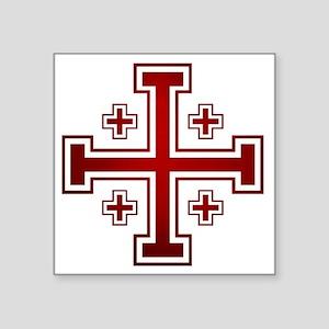 Cross of Jerusalem Sticker