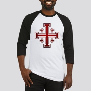 Cross of Jerusalem Baseball Jersey