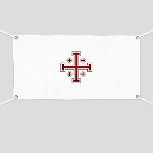 Cross of Jerusalem Banner