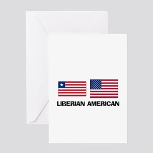 Liberian American Greeting Card